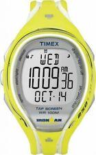 Timex T5K789, 250-Lap Ironman Triathlon Tap Screen Watch, Indiglo, Chronograph