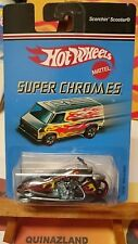 Hot Wheels Super Chromes Scorchin' Scooter  (9994)