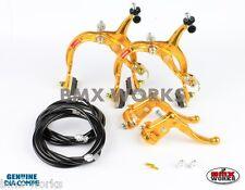 Dia-Compe MX1000 - MX121 Gold & Black Brake Set - Old Vintage School BMX