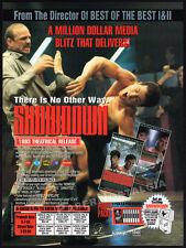SHOWDOWN__Original 1994 Trade print AD movie promo__KENN SCOTT__BILLY BLANKS