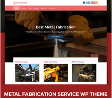 Metal Fabrication Services Website:  Welding Shearing Forming Punching Rolling