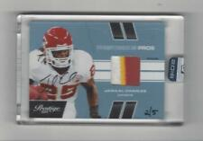 2016 Honors Jamaal Charles Buyback AUTOGRAPH PATCH Chiefs 2/5