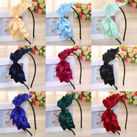 Fashion Girl Flower Bow Thin-Edges Sweet Hair Bands Headband Hair Accessories