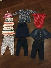 Baby Girl clothes bundle 6-9 9-12 months Summer Spring Top Clothing Next Gap F&F