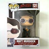 Funko Pop MATT MURDOCK 121 Daredevil Vinyl Figure