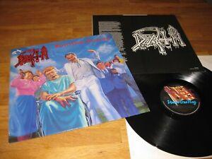 DEATH Spiritual Healing LP RARE 1990 Under One Flag FLAG 38 w/OIS |Autopsy|
