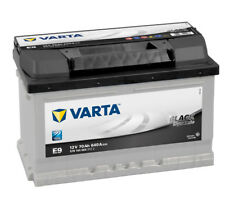 VARTA E9 BLACK DYNAMIC 12V 70AH E9 640A