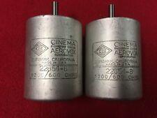 Pair of Cinema Engineering  22854-B Mic to Line Potentiometers 1200/600 Ohm