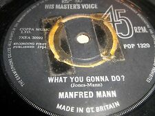 "MANFRED MANN "" DO WAH DIDDY DIDDY "" 7"" SINGLE POP 1320 VG"