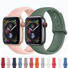 For Apple Watch Series 5 4 3 2 Sports Silicone Bracelet Band Strap 38/42/40/44mm
