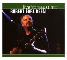 Robert Earl Keen, Jr - Live from Austin Texas [New CD] Rmst, Digipack Packaging