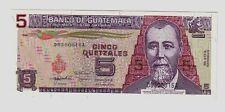 Guatemala  5 guarani  16/07/1992  FDC UNC pick 81  lotto   1158