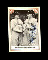 Bob Feller Hand Signed 1982 The Story Cleveland Indians Autograph