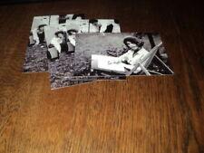 SHEILA LOT DE PHOTOS FORMAT 10*15 N&B - THEME 023 CHAISE LONGUE - 4 PRISES