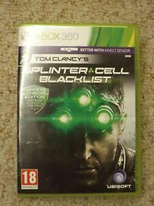 Tom Clancy's Splinter Cell Blacklist for Xbox 360, upper echelon edition.