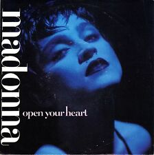 """7"""" Madonna – Open Your Heart // Germany 1986"""