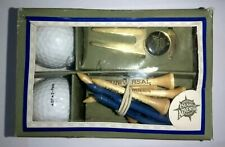 New listing ISLAND OF ADVENTURE Golf Gift Pack 2 Vintage Balls,10 tees,1 divot. MADE IN USA