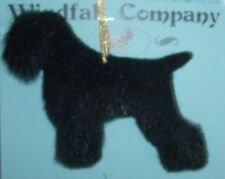 Black Russian Terrier Dog Soft Plush Christmas Ornament # 2 by Wc