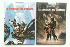 Lot BD - Le serment de l'Ambre 1 & 2 / EO 1995-97 / Contremarche / Lauffray