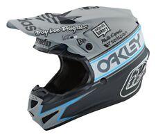 New L 59-60cm Troy Lee TLD Helmet SE4 POLYACRYLITE Team Edition Grey MX Large