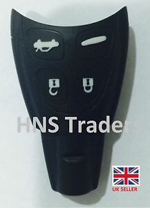 New for SAAB 4 Button Replacement Remote Smart KEY CASE For 93 95 9-3 9-5 +A03