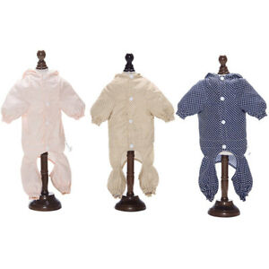 Waterproof Cute Dots Pet Dog Raincoat Jumpsuit Clothes Outdoor Puppy Cat Outfits