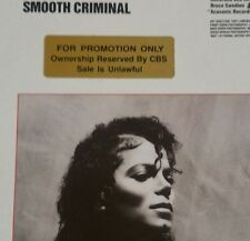 MICHAEL JACKSON Bad *PROMO STICKERED* A1/B1  ORIGINAL 80s Vinyl Lp Free Post UK