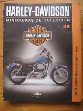 FASCICULE 39  MOTO COLECCION HARLEY DAVIDSON XLH 1000 SPORTSTER 1985
