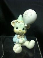 Precious Moment Have A Beary Special Birthday Bear Figurine 1989 B0104