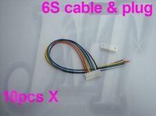 6s Lipo li po Batterie Balance Ladestecker und Kabel für rc heli  F00902-10