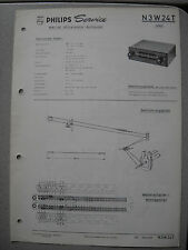 PHILIPS n3w24t Autoradio Service Manual, edizione 01/63