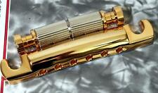 GOLD Gotoh Featherweight Stop Tailpiece w/Studs - USA Threads  - TP 3406-002