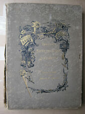 Antiquarian Sterne's SENTIMENTAL JOURNEY 1885,France and Italy,Illustrated,210pp