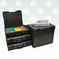 Bosch Sortimo L-Boxx 3 x 102 Gr1 + L-Boxx 374 Gr4 anthrazit + L-Boxx Mini