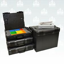 Bosch Sortimo L-Boxx 3 x 102 Gr1 + l-boxx 374 Size 4 anthracite + l-boxx Mini