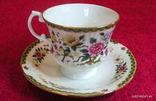 "Clare Bone China England (Assrt Floral) 2 7/8"" CUP & SAUCER SET Exc"