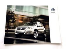 2010 Volkswagen Tiguan 26-page Original Dealer Sales Brochure Catalog