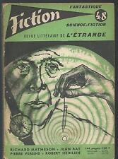 Fiction 48.Richard Matheson, Richard Wilson, Pierre Versins, R. Heinlein... SF53