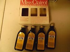 4-Pack Salon Miss Clairol Cream Formula Tint 47R Red Ginger Reddish Brown