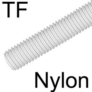 NYLON - TIGE FILETEE vis plastique long. 20cm - M3 (1)