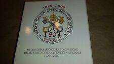 2009 Vatican City 10 Euro Silver coin vaticano 80th anniversary lateran treaty