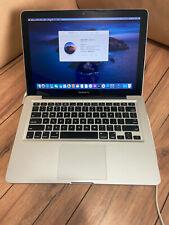"Macbook Pro 9,2 MD101LL/A 13"" Mid 2012 i5 2.5GHz /750 GB HDD/ 4GB RAM/ Catalina"
