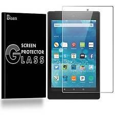 Amazon Fire 7 (7th Gen) [BISEN] Tempered Glass Screen Protector Guard Shield