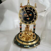 Vintage German Kundo Anniversary Clock 400 day Mantle, No Key, Untested