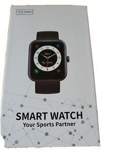 Cubot Smartwatch ID206 Touchscreen Armbanduhr 1.69 Zoll Fitness Tracker Sport...