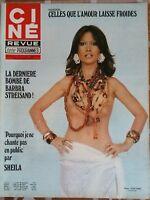 """Ciné Télé Revue 23/12/1976; Sheila """"Pourquoi je ne chante pas en public""""/ Calfan"""