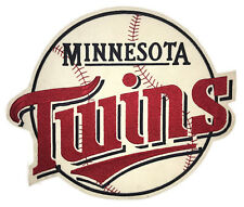 1987 ERA MINNESOTA TWINS MLB BASEBALL VINTAGE HUGE 15.75
