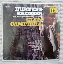 GLEN CAMPBELL Burning Bridges Mint Sealed CAPITOL Country Wrecking Crew Vinyl