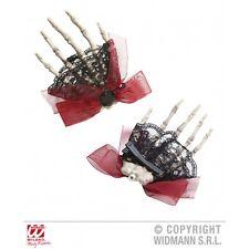 9521b Esqueleto Mano Cabello Clip Halloween fancydress Accesorio