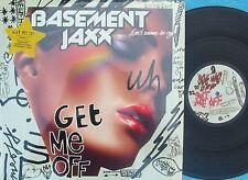 Basement Jaxx ORIG US PS 12 EP Get me off NM 2002 Club Dance House